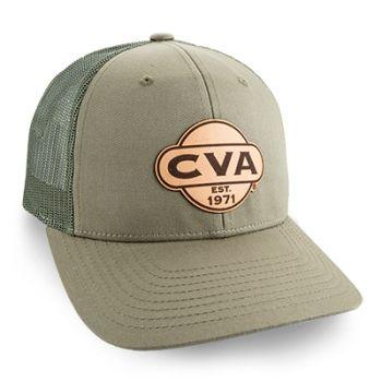 CVA 115 HAT LODEN CVA LOGO LEA