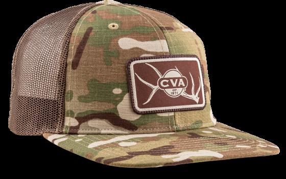 CVA 862 HAT CAMO ELK PATCH