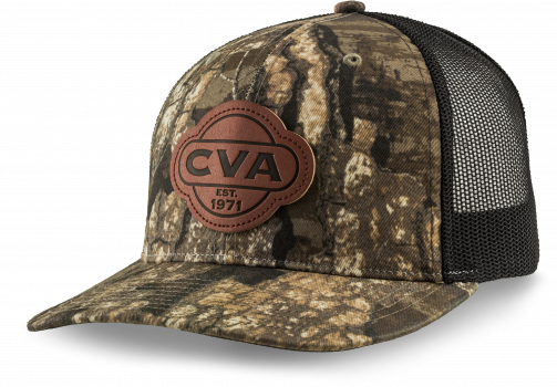 CVA TIMBER/BLACK PATCH HAT