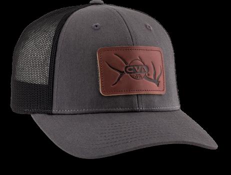 CVA CHAR/BLK LEATHER ELK HAT