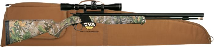 WOLF CAMO/BLUE .50 SCOPE CASE
