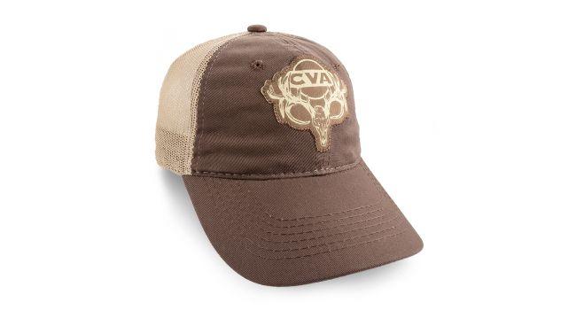 CVA BUCK CAP BRN/TAN MESH CAP