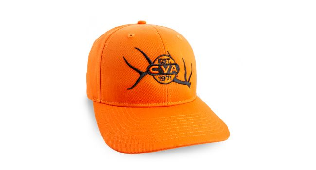 CVA 212 HAT ORANGE ELK LOGO