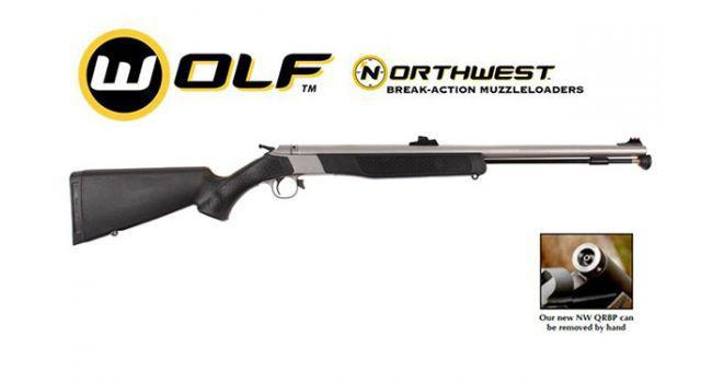 WOLF NORTHWEST SS/BLACK .50 FO