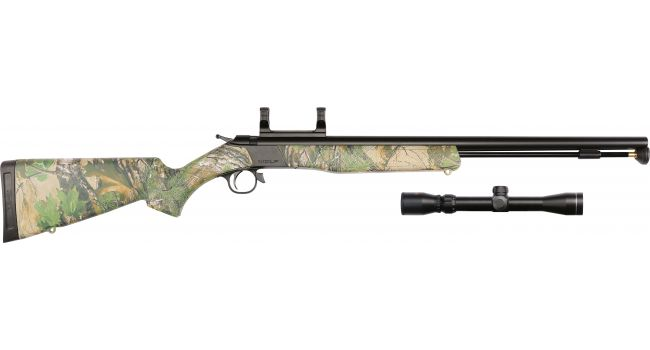 WOLF CAMO/BLUE .50 SCOPE PKG